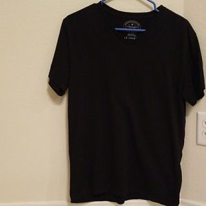 American eagleMens Medium Athletic fit black shirt